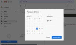 जीमेल-सेट-टाइम में ईमेल कैसे शेड्यूल करें